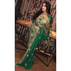 Saree Dress (Green)
