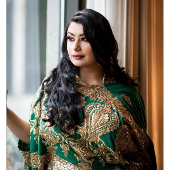Saree Dress (Green)