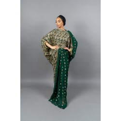 DIRAC SAREE (Green)