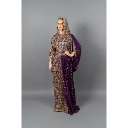DIRAC SAREE (Purple)