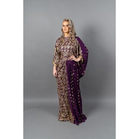 DIRAC SAREE (Purple)