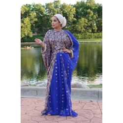 Dirac Saree (RoyalBlue)