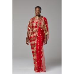 DIRAC DRESS (RED)