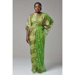 DIRAC DRESS (GREEN)
